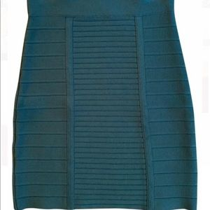 BCBG Green Bandage Skirt
